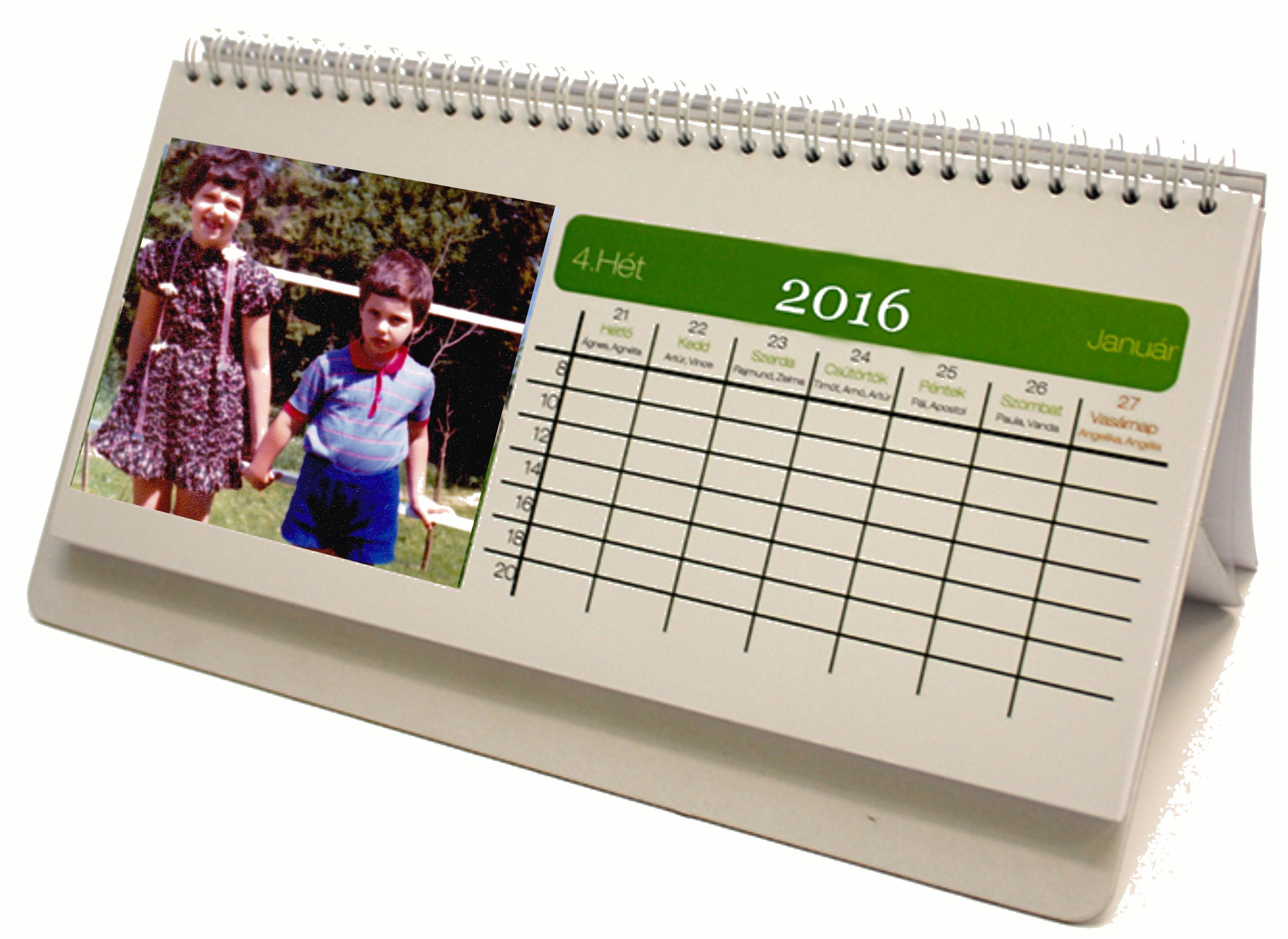 52 lapos naptár Új 53 lapos asztali naptár 52 lapos naptár