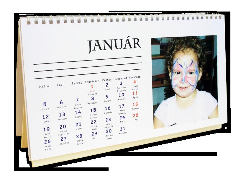 fényképes naptár névnapokkal FÉNYKÉPES NAPTÁR FALI  , ASZTALI  , HÍMZETT fényképes naptár névnapokkal
